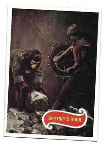 PLANET OF THE APES MOVIE CARD NO 19 DESTINY'S DOOR TOPPS NRMINT+ 5067
