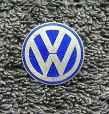 VOLKSWAGEN VINTAGE EMAIL PIN BADGE VW ACCESSORIES BUG BUS KDF GERNMANY 50ies