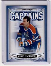 CRAIG MacTAVISH 06/07 Parkhurst CAPTAINS Insert Card #183 Edmonton Oilers /3999