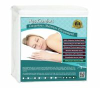 Waterproof Mattress Protector Zippered Encasement - Anti Bed Bug And Dust Mite
