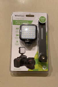 Vivitar Rechargeable LED Light