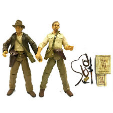 """Lot2pcs Indiana Jones Raiders of the Lost Ark 3.75"""" Action Figure Great Gift Toy"""