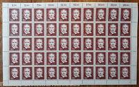 Berlin 482 postfrisch Bogen komplett Gottfried Schadow FN 1 Full sheet MNH