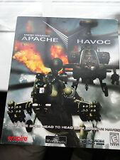 Apache Havoc Enemy Engaged PC Game for Windows PC CD-Rom Big Box Game
