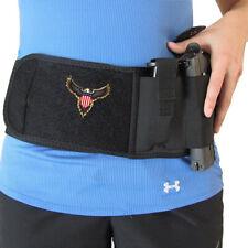Concealed Carry Belly band pistol holster. Soft case holster magazine pocket.