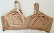 Comfort Choice Bra Nude Full Coverage Plus Size No Wire Size 52G