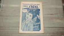 RARE 1929 GIRLS CINEMA, MOVIE & FILM MAGAZINE LOUIS WILSON WHY HAVNT YOU MARRIED