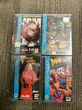 Sega CD Game Lot Sealed New - see photos/description NBA JAM - POWER FACTORY