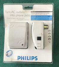 New Philips Ph0900 Wireless Phone Modem Jack System
