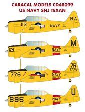 Caracal Models 1/48 US Navy SNJ Texan # 48099