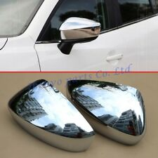 2pcs Exterior Side Mirror Covers For Mazda 2 3 DJ DL BM BN Rearview Accessories