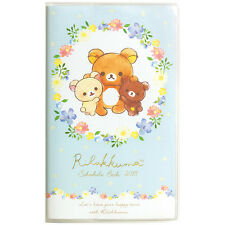 New SAN-X Rilakkuma Korilakkuma 2018 Slim Diary Book Schedule Notebook Date