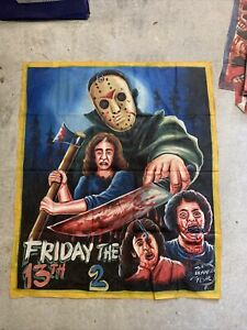 Friday The 13th Original Ghana Movie Poster 43 In X 36 In