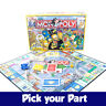 PICK YOUR PARTS - Monopoly Simpsons Board Game - SPARES / REPLACEMENTS