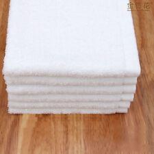 Luxury Wash Cloths Face Cloth Flannel White Bath Towel Cotton