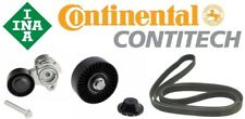 ContiTech Belt 6PK1990 w/INA OE Tensioner 11282624196 + Pulley 11287535860 Set