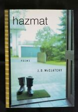 Hazmat by J. D. McClatchy (2002, Hardcover) Borzoi Book, Alfred A. Knopf