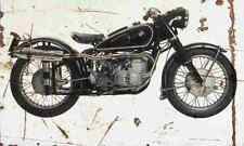 BMW R68 SDT Special 1953 Aged Vintage SIGN A4 Retro