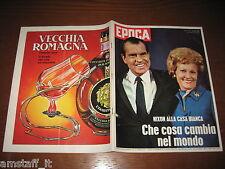 EPOCA 1969/957=RICHARD NIXON=AUDREY HEPBURN=GUGLIELMO MASSAIA=