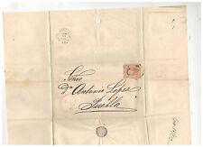 1872 Gutierrez y Del Rio Mexico Cover to Puebla Dr Antonio Lopez 3