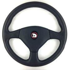 Genuine Momo  360mm black leather steering wheel. Classic HSV, 1993.   7A