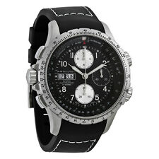 Hamilton X-Wind Black Dial Chronograph Mens Watch H77616333