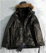 NWT, Emporio & Co., Women's Black Winter Jacket with Hood, Size XL