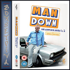 MAN DOWN - COMPLETE SERIES 1 & 2  **BRAND NEW DVD**