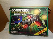 1987 Fisher Price Construx 6225 Laser Demon - Alien Series Set PARTIAL SET W/BOX
