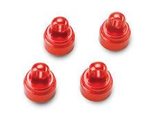 Traxxas Slash Rustler Stampede Ultra Shocks Aluminum Shock Caps (Red) TRA3767X