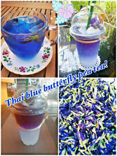 Butterfly Pea Tea healthy Dried Thai Flowers 100% Natural Remedy premium quality