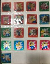 Super Rare Set Of 17 Simpson Flickers All In Mint Condition