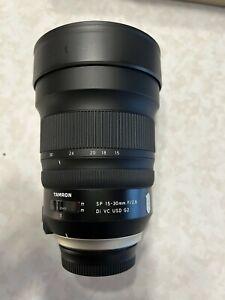 Tamron SP 15-30mm F/2.8 Di VC USD G2 Lens (Nikon) *Open Box* MINT