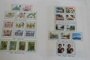 GB Fine Used Stamp Collection from 1981 onwards inc range of post 2000 Regionals