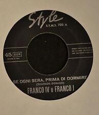 HEAR IT ITALIAN POP SOUL Franco IV e Franco Style 700 Se Ogni Sera