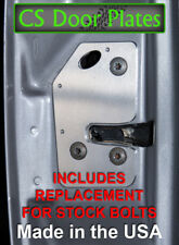 Dodge Ram 4 DOOR 94-01 2nd gen L&R door latch repair & reinforcement plates BR