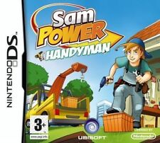 Sam Power Handyman Nintendo DS Game NDS 2ds 3ds XL DSi Kids Boys Toys Child