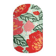 JAMBERRY Half Sheet Floral print party Nail Wraps Art