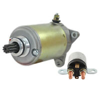 NEW STARTER AND RELAY FIT SKIDOO SNOWMOBILE SCANDIC LEGEND EXPEDITION 420684560
