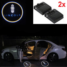 2 x Lincoln Car Door Welcome LED Light Courtesy Projector Ghost Shadow Sticker