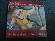 The Hunchback Of Notre Dame(2003)PROMO ANIMATED CLASSIC REG 2 FREE P+P
