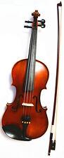 4/4 Violin Outfit Ebony Parts Bow Rosin Case
