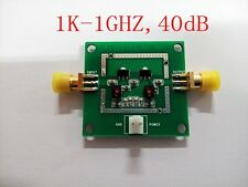 1K-1GHZ,40dB gain 20dB Low Noise LNA RF Broadband Amplifier Module HF VHF/UHF