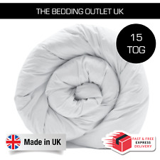 Heavyweight Winter Warm 15 Tog Duvet - Anti Allergy Feels Like Down Quilt