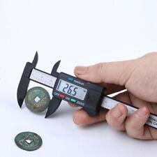100 mm LCD Digital Vernier Caliper Micrometer Measure Tool Gauge Ruler CRF