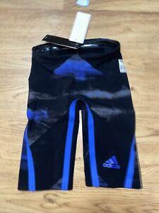 Adidas Men's Tech Suit Jammer Tech Suit CD5239 Sz 22 Fina Approved Breaststroke