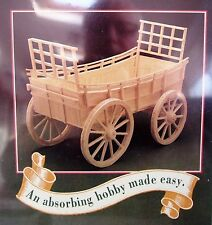 Hobby's Matchbuilder 6116 - Victorian Hay Wain Cart Matchstick Model Kit T48Post