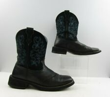 Ladies Ariat Fatbaby Black Western Boots sz: 9.5 B (#19965 AB)