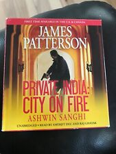 Private India : City on Fire by James Patterson and Ashwin Sanghi (2014, CD,...
