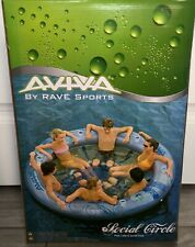 BRAND NEW Aviva Social Circle Inflatable Float / Tube by Rave Sports SEALED BOX